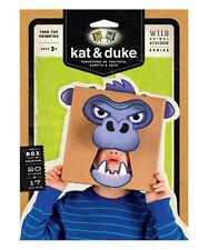 Kat & Duke Tree Top Primates Gorilla NIB Wild Animal Kingdom Series NIP Mask