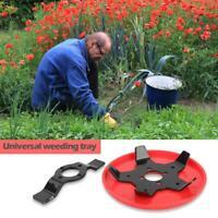 Lawn Mower Grass Wheel Trimmer Head Brushcutter Garden Grass Cutter (A)