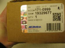 Rear Disc Brake Pad Set ACDelco GM General Motors Original 171-0999 Box 298
