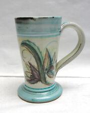 Early 1950s DENBY GLYN COLLEDGE British Art Pottery GLYN WARE IRISH COFFEE MUG