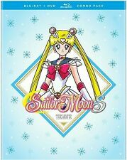 Sailor Moon S The Movie Combo Pack [New Blu-ray] With DVD, 2 Pack, Amaray Case