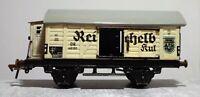 Fleischmann Spur 0 DR 46181 Reichelbräu gebraucht Sammlerstück