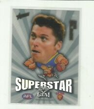 2011 AFL SELECT CHAMPIONS SUPERSTAR GEM BRISBANE LIONS SIMON BLACK MG2 CARD