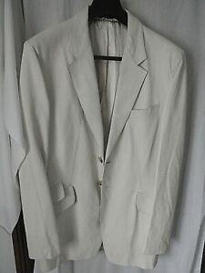 "NEW  Paul Smith Collection Cream Lizard Skin Print Sample Jacket Size 38"" RARE"