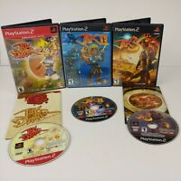 🔥PLAYSTATION 2 PS2 Game Lot: JAK 1 2 3 II Precursor -Two are CIB FREE SHIPPING!