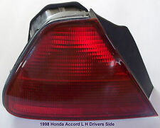 1998-2002 Honda Accord L-H Drivers  Side (Tail Light Assembly) P/N's 938 864