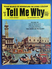 Tell Me Why - Your World Of Adventure - No.3 - September 1968 - Wonders Magazine