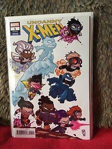 UNCANNY X-MEN # 1 SKOTTIE YOUNG VARIANT EDITION  MARVEL COMICS