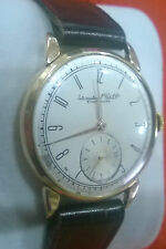 IWC GENTS wristwatch VERY RARE CAL 70!Vintage 1940s-18K solid gold case.WORKING