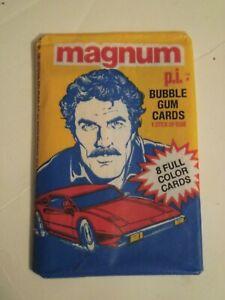 91Unopened Mint Wax Pack 1983 Donruss Magnum PI