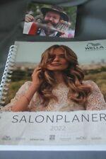 Vormerkbuch 2022 Salonplaner Wella 6 Mitarbeiter Terminbuch