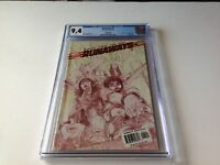 RUNAWAYS 1 CGC 9.4 WHITE PAGES LIMITED EDITION VARIANT SKETCH CVR MARVEL COMICS