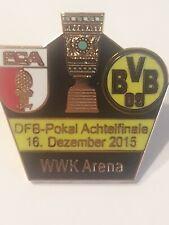 Bundesliga,Pin,DFB POKAL 2015 FCA AUGSBURG/BVB DORTMUND
