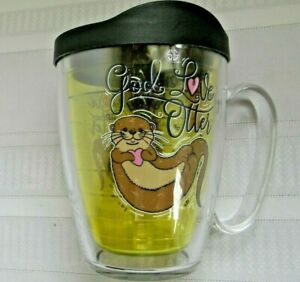 "Simply Southern Tervis 16 oz Mug ""God is Love Like No Otter"" & Sippy Cap VNC"