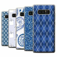 Blue Matte Mobile Phone Cases, Covers & Skins for Samsung Galaxy Note 8