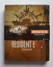 Steelbook Resident Evil Biohazard XBOX ONE / G2 / rare / neuf sous blister