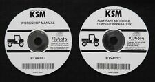 GENUINE KUBOTA RTV400Ci RTV 400 UTILITY VEHICLE TRACTOR SERVICE REPAIR MANUAL