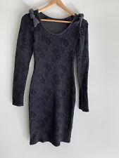 852157cb013d METALICUS Gorgeous Textured Stretch Long Sleeve pencil dress 8-12