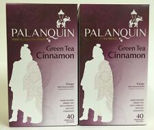 Green tea Cinnamon x 2 by Palanquin Royal Spiced Tea Blends