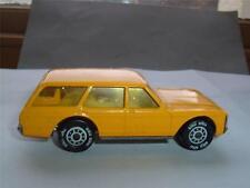 SIKU FORD GRANADA TURNER ESTATE CAR IN YELLOW NICE ORIGINAL MODEL UNBOXED C PICS