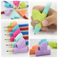 3PCS/Set Children Pencil Holder Pen Writing Aid Grip Posture Correction Tool TOP
