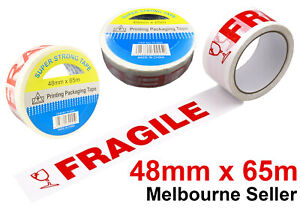 Fragile Series Packing Tape Fragile Sign Sticky Tape 48MM x 65MTR