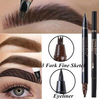 Waterproof Eye Brow Eyeliner Liquid Eyebrow Tattoo Pen Pencil Makeup Tool