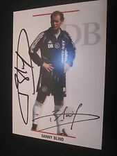 26386 Danny Blind Ajax Amsterdam original signierte Autogrammkarte