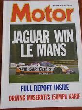 Motor 18/6/88 Alpina BMW B11, Le Mans