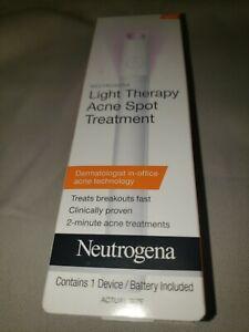 Neutrogena Light Therapy Acne Spot Treatment 1 Device each 12/31/2020