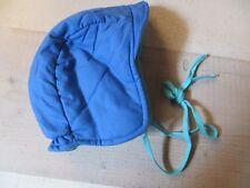 NEU: warme Sterntaler Baby Mütze Wintermütze in dunkelblau Gr. M dick warm Junge