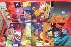 ADVENTURE TIME CANDY CAPERS 1-6 KABOOM 17 VARIANT COMIC LOT EXCLUSIVE 2013 NM
