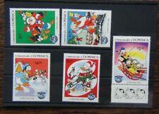 Dominica 1984 Christmas Walt Disney Characters set MNH