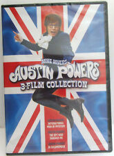 Austin Powers ~ 3-Film Collection ~ Movie Comedy Dvd
