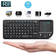 Rii X1 2.4Ghz Mini Wireless Keyboard touchpad for PC smart TV Rasberry PI 012