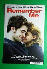 REMEMBER ME ROBERT PATTINSON EMIL DE RAVIN MINI POSTER BACKER CARD (NOT a movie)