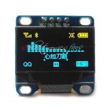 "0.96"" Yellow Blue Gelb blau IIC I2C 128X64 OLED LCD Display Module Arduino/STM32"