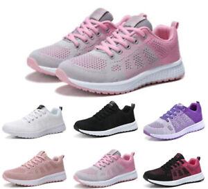 Damen Freizeit Schuhe Laufschuhe Turnschuhe Atmungsaktiv Sportschuhe Sneaker