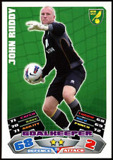 #200 Topps Match Attax John rojiza fútbol 2011-12 tarjeta de comercio (C208)