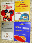 Collectible Gift Cards, new and unused, with backing, no value on cards   (KQ)