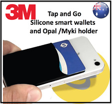 Mobile Phone Tap and Go Transport Card holder Credit card pouch attach to phone