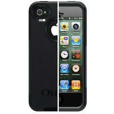 NEW GENUINE OTTERBOX COMMUTER CASE FOR IPHONE 4 4S BLACK APL4-I4SUN-20-E4OTR
