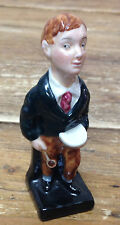 Royal Doulton Oliver Twist Figurine Pharmacist Porridge Bowl Spoon England NICE