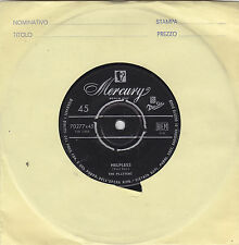 """THE PLATTERS - helpless / indiff'rent 45"""""""