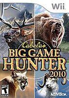 Cabela's Big Game Hunter 2010 (Nintendo Wii, 2009)