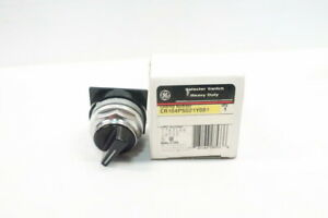 General Electric Ge CR104PSG21Y001 2 Pos Selector Switch