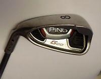Left Handed Ping G25 Black Dot 8 Iron TFC 169 S Flex Graphite Shaft