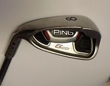 Left Handed Ping G20 Black Dot 8 Iron TFC 169 S Flex Graphite Shaft