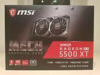 MSI Radeon RX 5500 XT MECH OC 8GB Graphics Card - Brand New - Sealed - Receipt