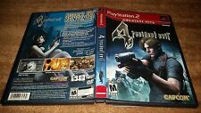 RESIDENT EVIL 4 GH IV CAPCOM PLAYSTATION 2 PS2 LN 100% PERFECT COMPLETE!